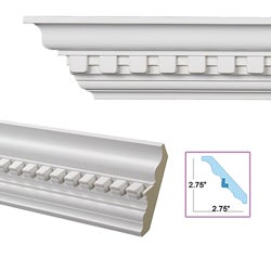 dentil 3 9 inch crown molding 13878666 For9 Inch Crown Molding