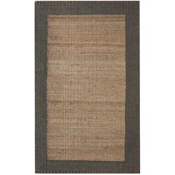 nuLOOM Handmade Texture Stockholm Jute Rug (5' x 8')