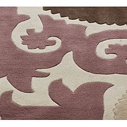 nuLOOM Handmade Pino Suzani Rug (5' x 8')