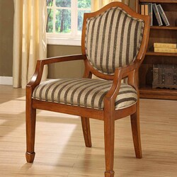 William's Home Furnishing Occasional Stripe Chair