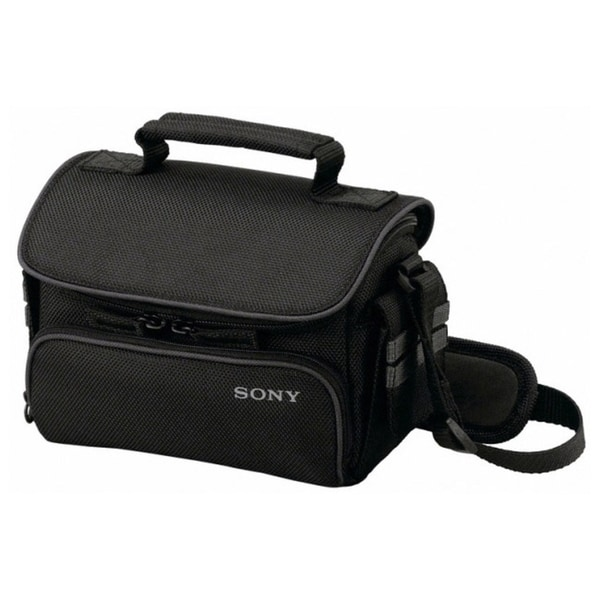 Sony LCS-U10 Carrying Case for Camcorder, Camera, Accessories - Black