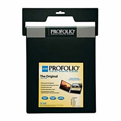Itoya Portfolio Black - ID-2475 Digital Printer 7x5-in Album