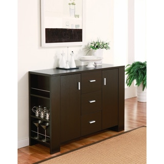 Furniture of America Clayton Cappuccino-finish Dining Buffet