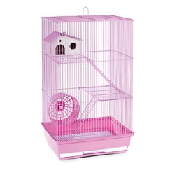 Prevue Pet Products Three Story Lilac Hamster/Gerbil Cage SP2030L
