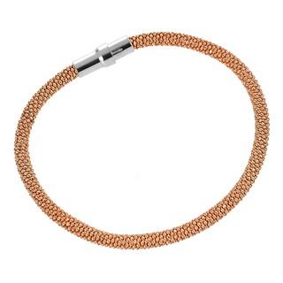 Tressa Rose Goldplated Sterling Silver Magnetic Bracelet