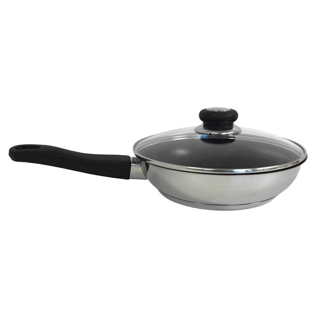 Excalibur Coating 11-inch Stainless Steel Fry Pan