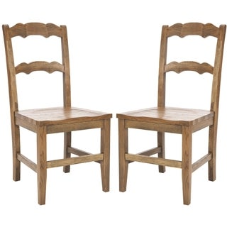 Safavieh Chatel Oak Finish Side Chairs (Set of 2)
