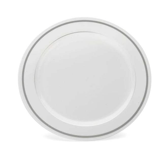 Heavyweight 7.5-inch China Like 20-piece Disposable Plates