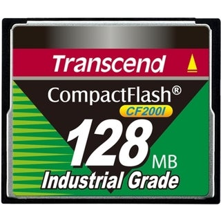 Transcend CF200I 128 MB CompactFlash (CF) Card