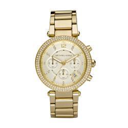 Michael Kors Women's Crystal Bezel Chronograph Watch