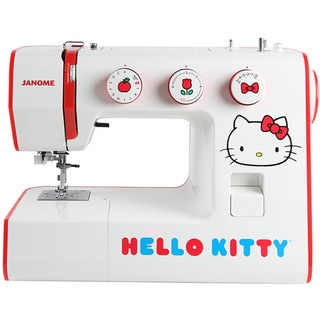 Janome Hello Kitty 15822 Heavy-duty Aluminum 22-stitch Sewing Machine