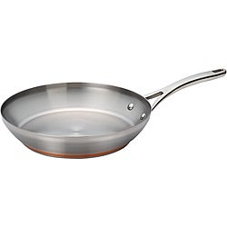 Anolon Nouvelle Copper Stainless Steel 12-inch French Skillet