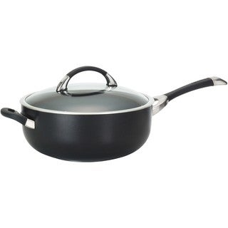 Circulon Symmetry Hard-anodized Nonstick 6-quart Covered Chef Pan