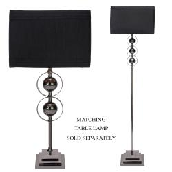 Casa Cortes Loft Obsession Black 1-light Floor Lamp