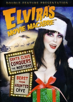 Elviras Movie Macabre: Santa Claus Conquers The Martians/Beast From Haunted Cave (DVD)