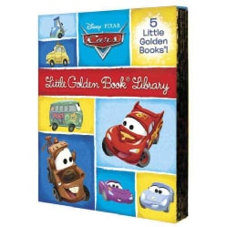 Cars Little Golden Book Library (Hardcover)