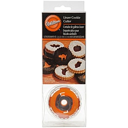 Wilton Linzer Halloween Cookie Cutter Set (Pack of 7)
