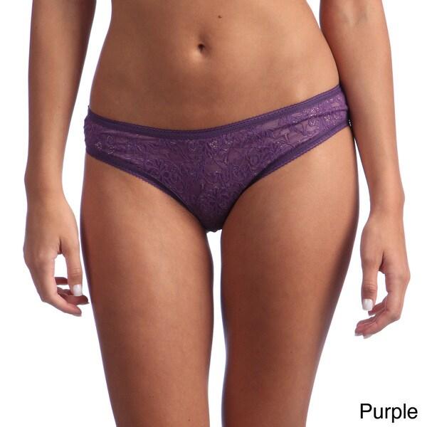 Ilusion Women's Cotton-lined Lace Bikini