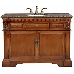Empire Light Walnut Bathroom Vanity