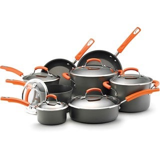 Rachael Ray II Hard-anodized Nonstick 14-piece Cookware Set ** With $20 Mail-In Rebate **
