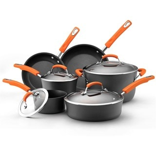 Rachael Ray II Hard-anodized Nonstick 10-piece Cookware Set with $20 Mail-in Rebate