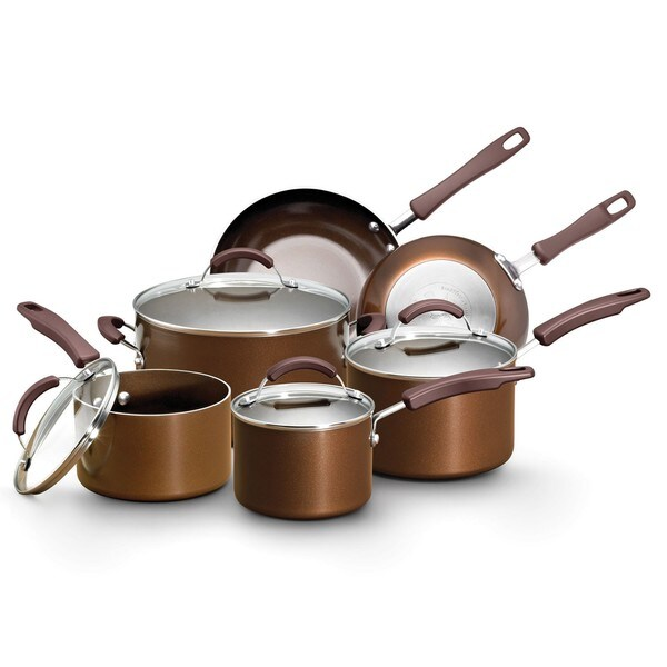 Earth Pan Sandflow 10-Piece Cookware Set