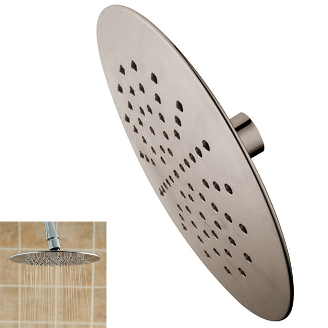Watersense Rain Fall Satin Nickel Showerhead