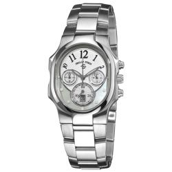 Philip Stein Women's 'Classic Chrono' Stainless Steel Watch