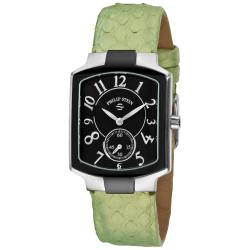 Philip Stein Women's Classic Green Strap Watch