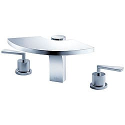 Kraus Fantasia Three-hole Basin Chrome Faucet