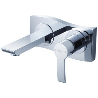 Kraus Sonus Wall-mounted Single Lever Basin Chrome Faucet