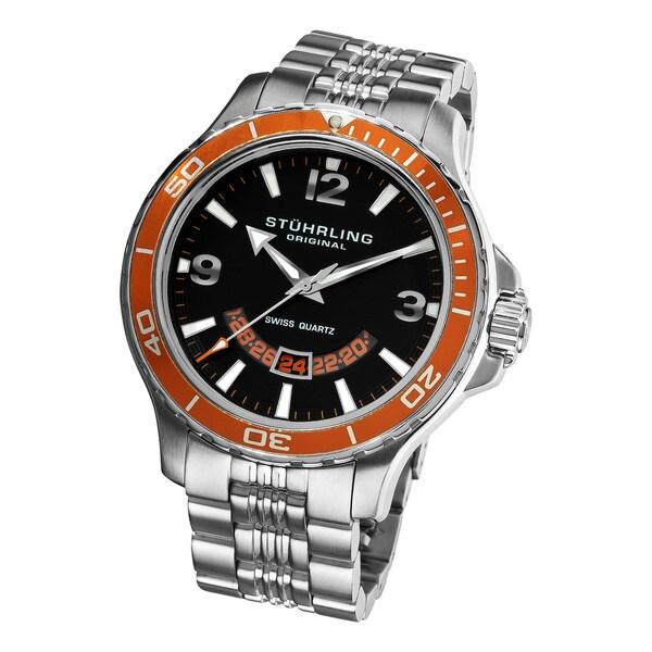 Stuhrling Original Men's Pioneer Swiss Quartz Watch