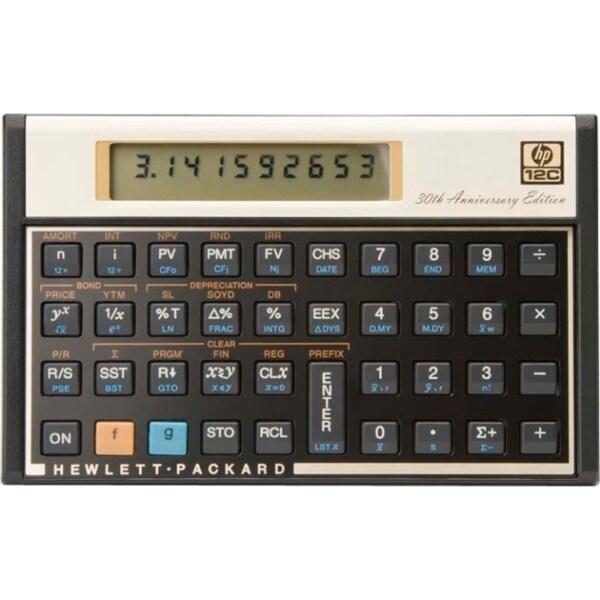 HP 12c 30th Anniversary Financial Calculator