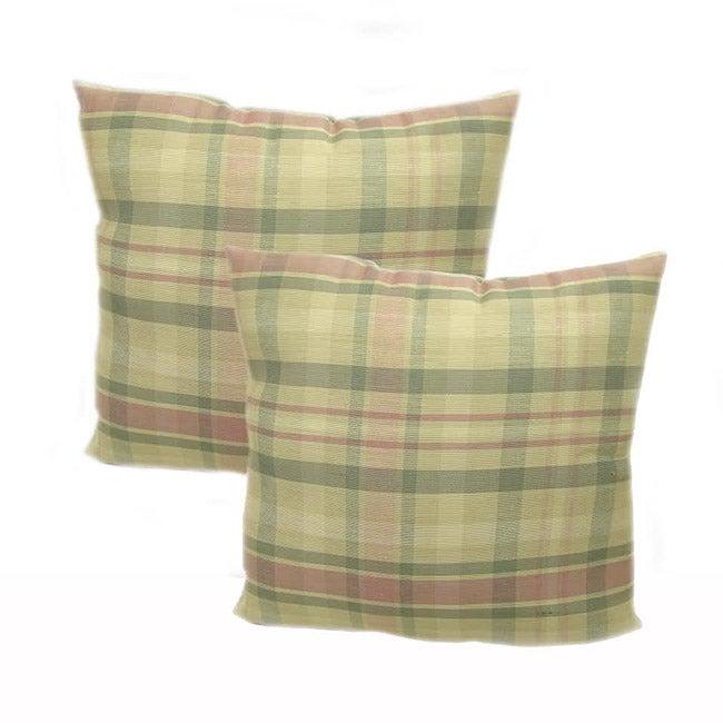 La Cross Throw Pillows (Set of 2)