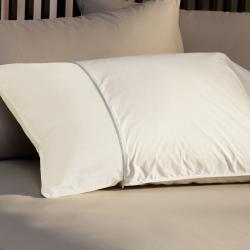 230 Thread Count Zip Standard/Queen/King- Size Pillow Protectors (Set of 2)