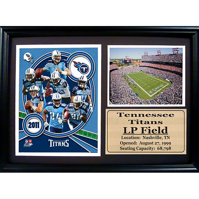 2011 Tennessee Titans 12x18 Photo Stat Frame