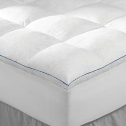 Extra Support 2-inch Gusseted Twin Skirted Featherbed