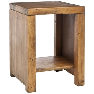 Safavieh Stamford Reclaimed Wood Finish End Table