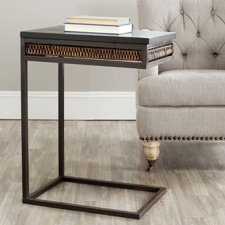 Safavieh Tadley Wicker Accent Tea Side Table