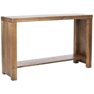 Stamford Reclamined Wood Finish Console Table