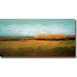 Peter Colbert 'Drivescape' Canvas Art