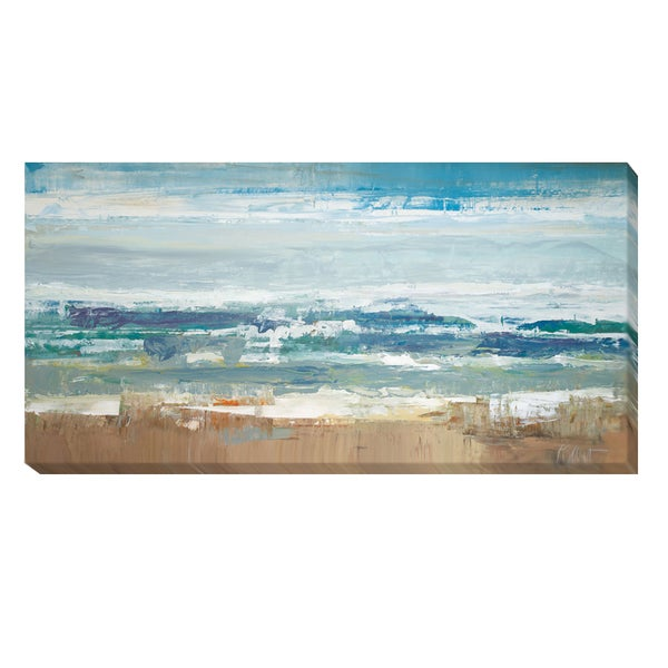 Peter Colbert 'Pastel Waves' Canvas Art