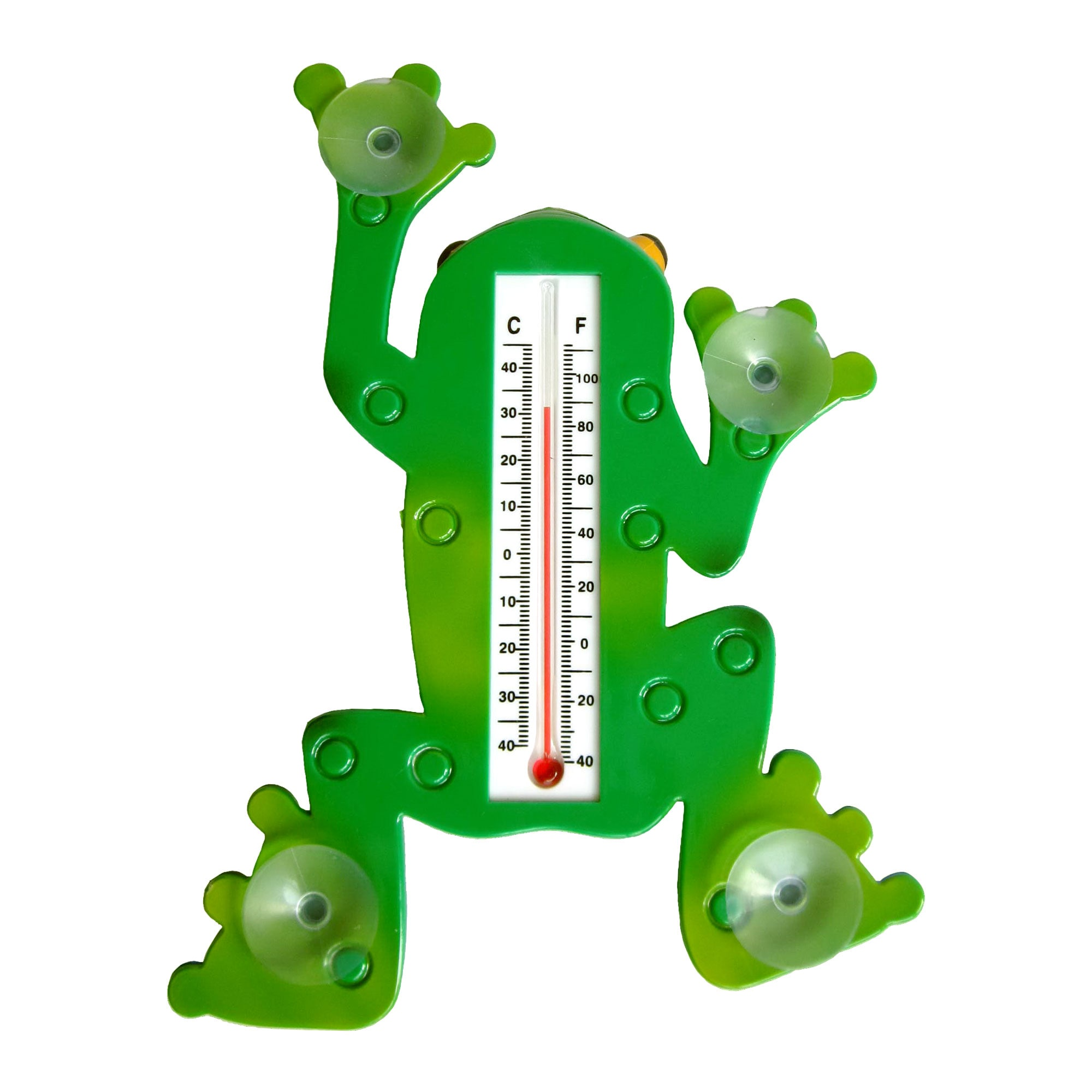 Frog 9-inch Window Thermometer