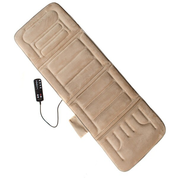 Comfort Products 10-motor Heated Massage Mat