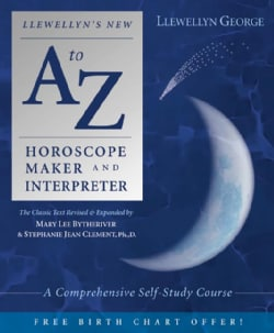 Llewellyn's New A-Z Horoscope Maker and Interpreter: A Comprehensive Self-Study Course (Paperback)