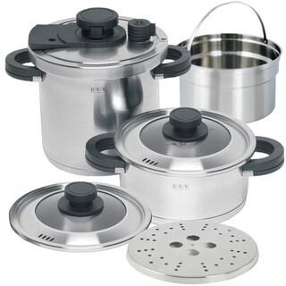 B/R/K 7-piece 9.5-inch Pressure Cookware Set
