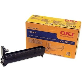 Oki Yellow Image Drum For C6000n and C6000dn Printers