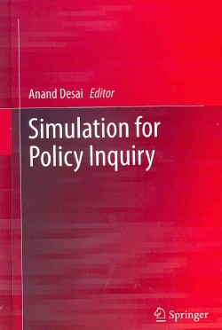 Simulation for Policy Inquiry (Hardcover)