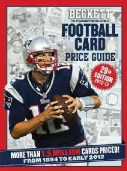 Beckett Football Card Price Guide 2012-13: From 1894 to Early 2012 (Paperback)