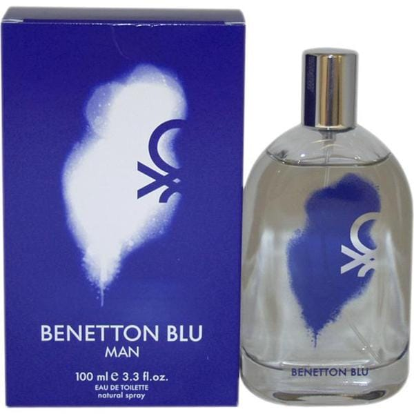 United Colors of Benetton Benetton Blu for Men 3.3-ounce Eau de Toilette Spray